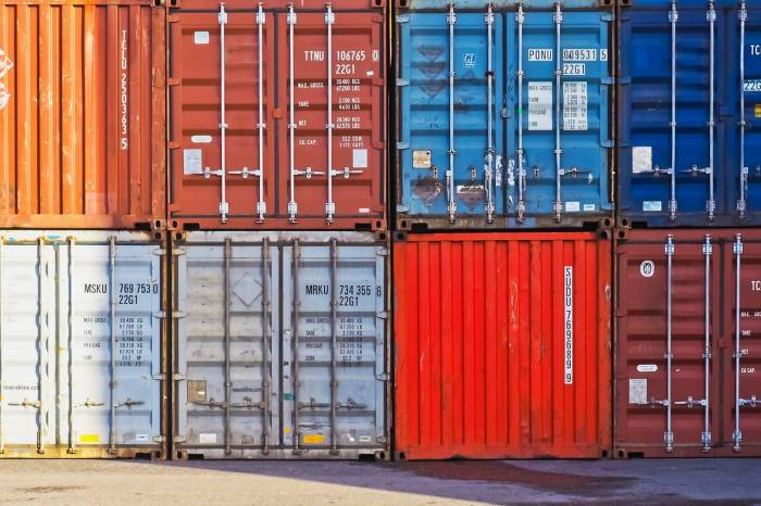 container, container port, port